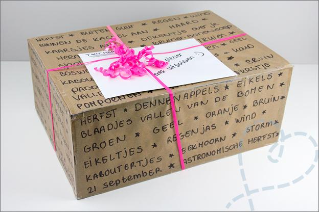 Twitherfst pakketje met cadeautjes