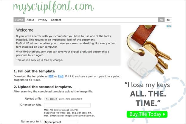 myscriptfont.com