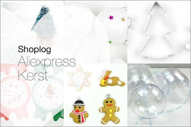 shoplog aliexpress kerst