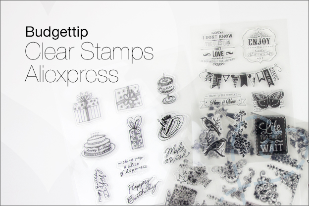 Budgettip clear stamps aliexpress