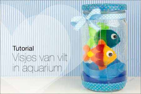 Tutorial #38 deel 2: Visjes van vilt in aquarium ★