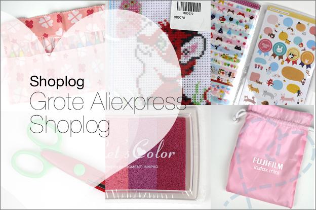 grote shoplog aliexpress 2017