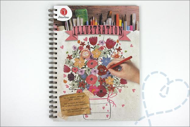 Shoplog Action Decotime handelettering Illustration boek