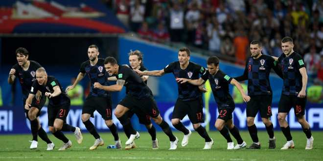 Croatia through as hosts pay the penalty