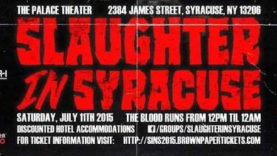 JASON WEST & NICK DECARLO GIVE US THE SCOOP ON 'SLAUGHTER IN SYRACUSE 2015'!