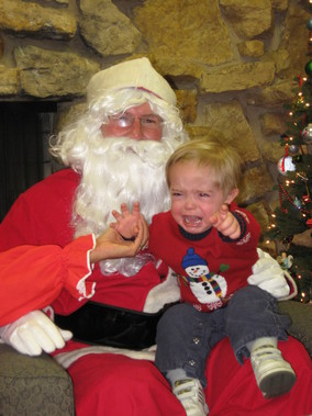 Santa Claus Child Abuser NO CAPTION NEEDED