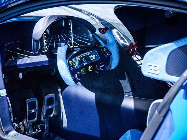 Bugatti Vision Gran Turismo Interior View No Car No Fun