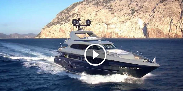 Nameless M41 Mondo Marine Super Yacht By Stefano Ricci