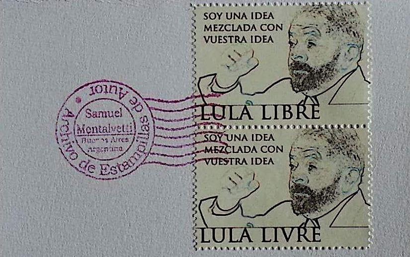 Lula virou selo na Argentina. FHC vai cortar os pulsos.