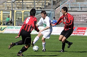Un'azione di Cosenza vs Nocerina, 2-4