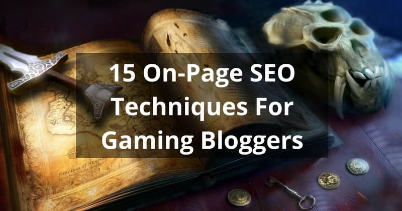 on-page seo gaming blog - nochgames