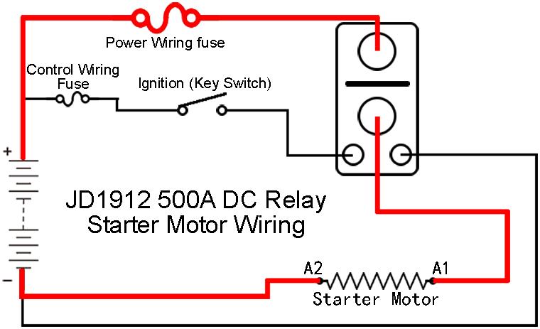 12v Starter Solenoid Diagram