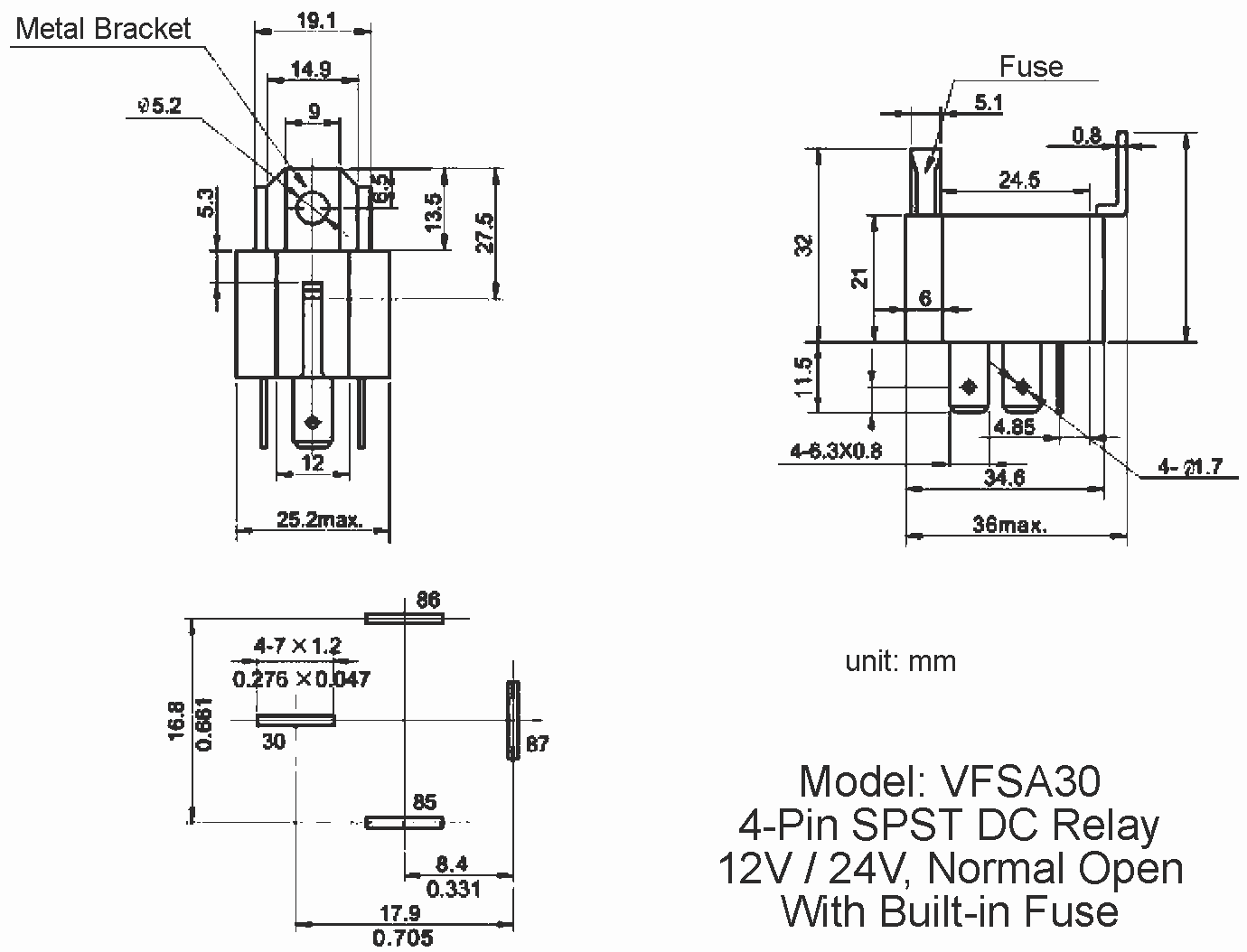 5 Pin Relay Wiring Diagram 120v