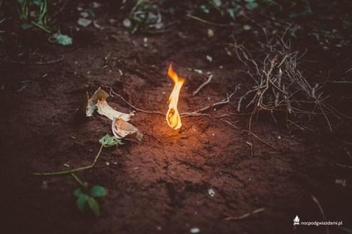 Przygotowanie do ognisak