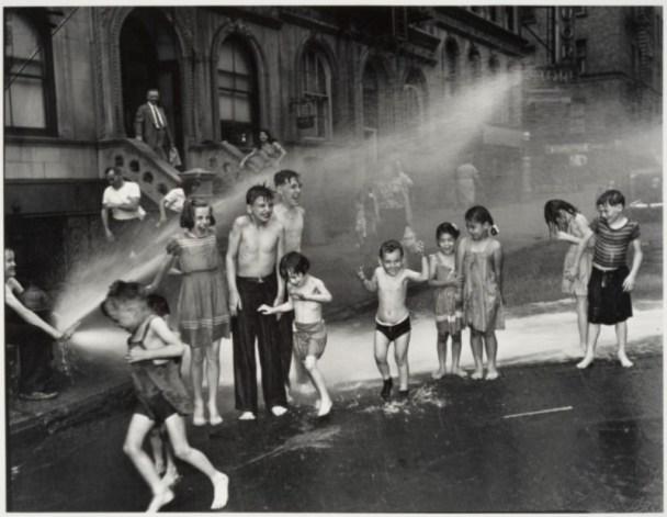 """Summer on the Lower East Side"" by Weegee (Arthur Fellig), 1937."