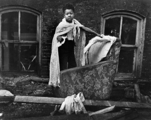 © Gordon Parks. Ghetto Boy, Chicago, Illinois, 1953
