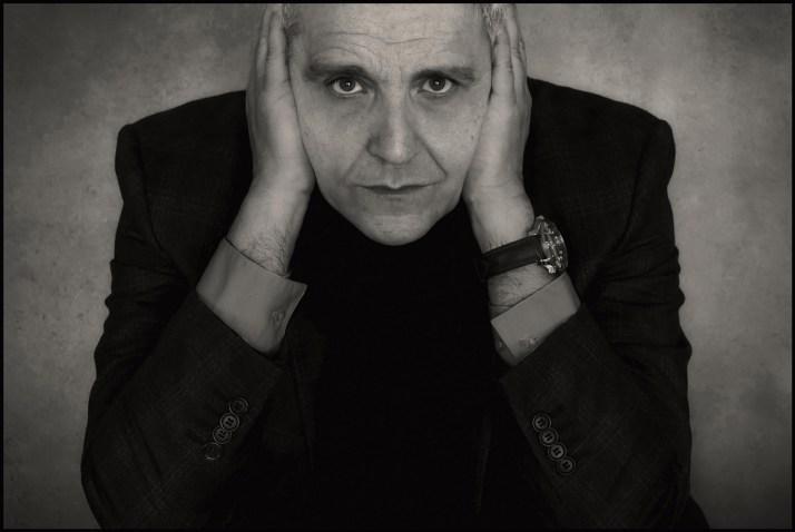 Maurizio De Giovanni - foto Augusto De Luca.