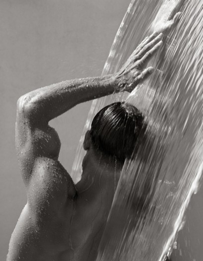 © Herb Ritts Foundation. Waterfall IV, Hollywood 1988