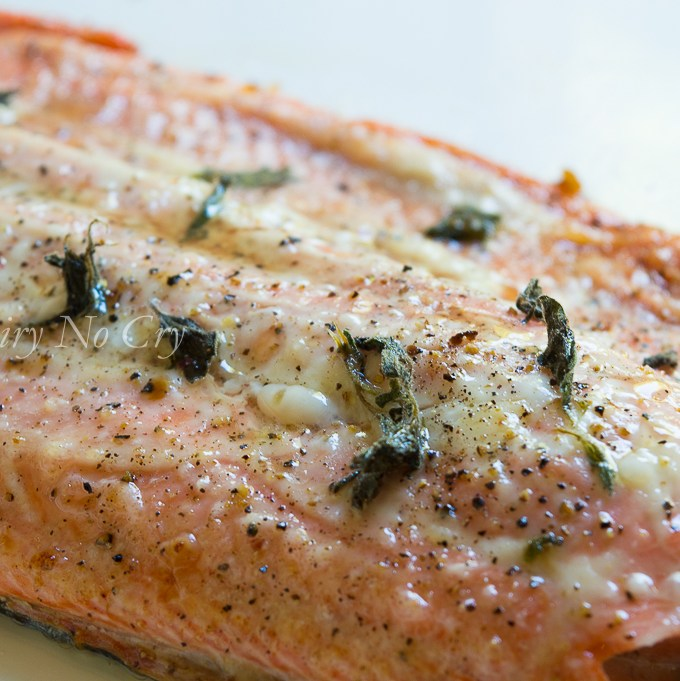 Baked Wild Salmon