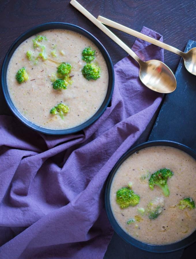 Healthiest Creamy Broccoli Soup