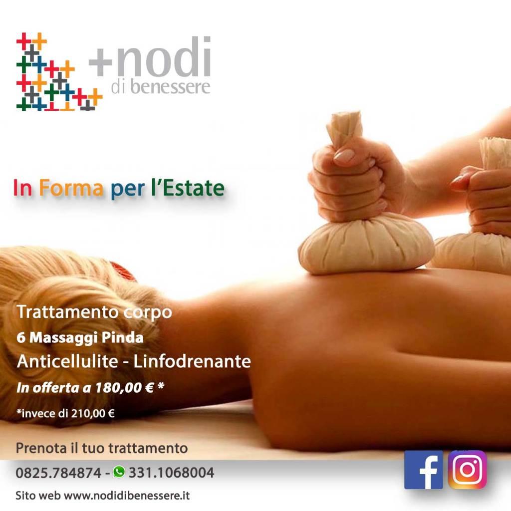 Promozione Trattamento Corpo e e massaggi Pinda