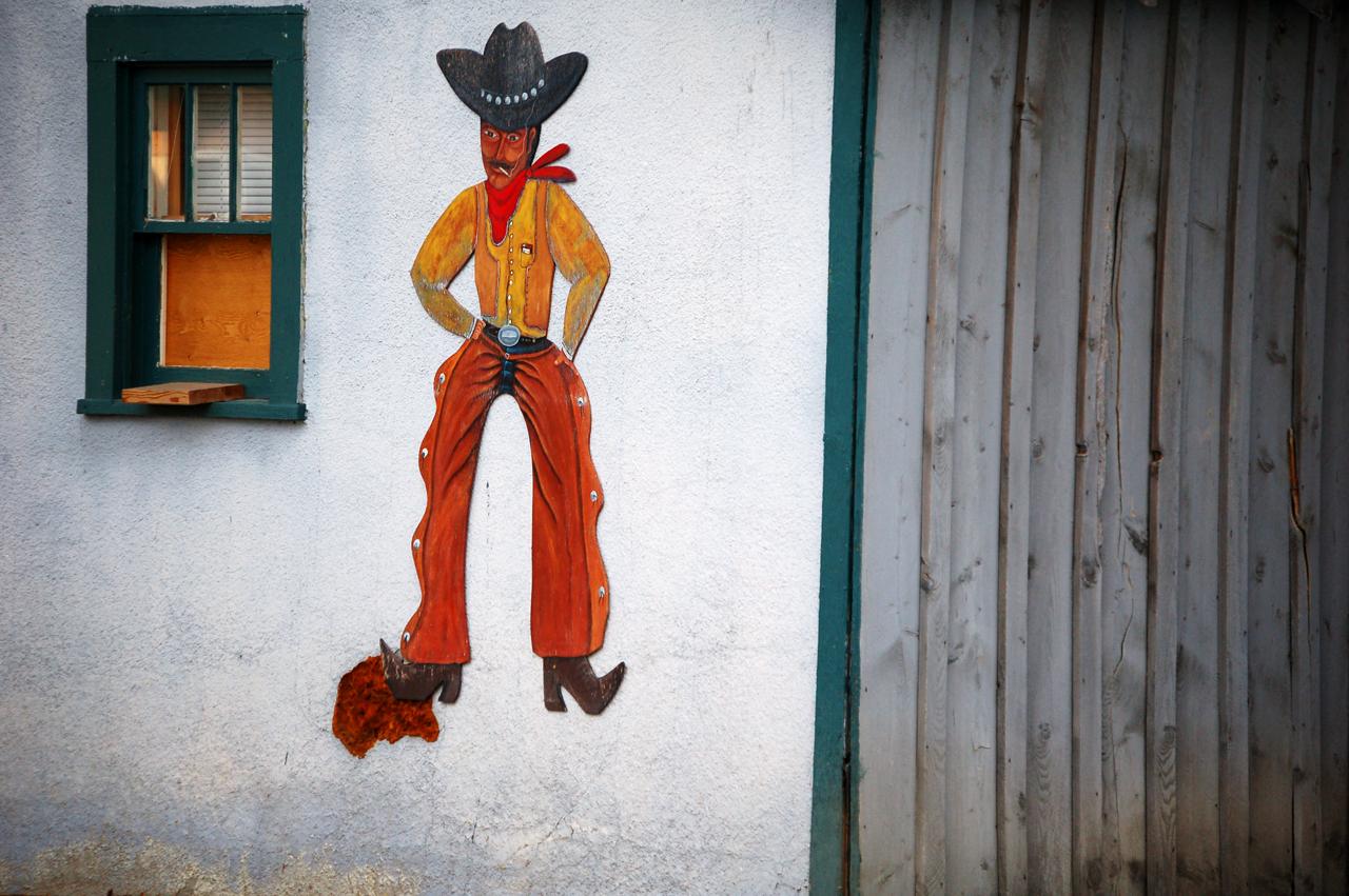 Wall cowboy