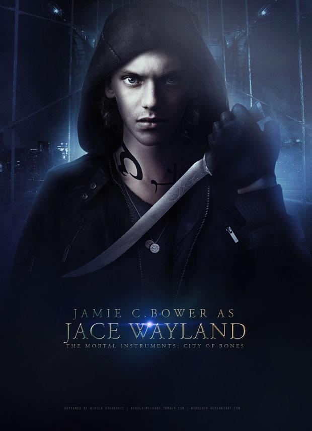 Jace-Wayland-cazadores-de-sombras-poster