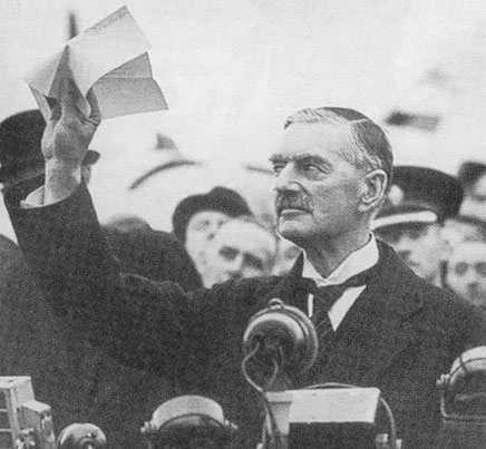 No olvidar a Chamberlain y el Pacto franco alemán