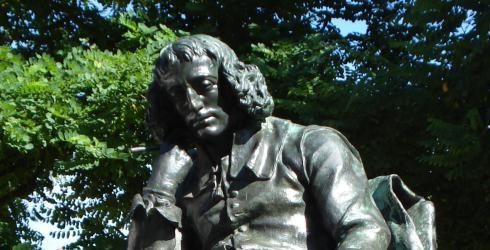 Estatua a Benito Espinosa, por Federico Hexamer (1847-1924), en La Haya