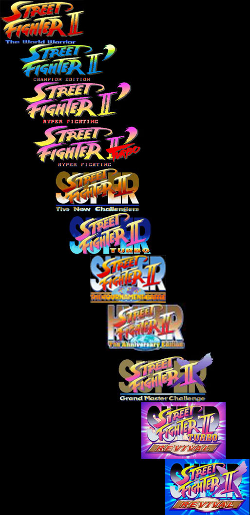 Image result for street fighter II all editions