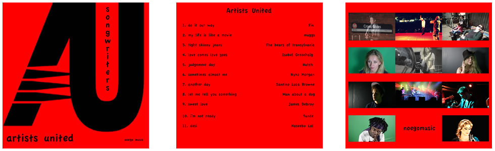 artitsts united noego music