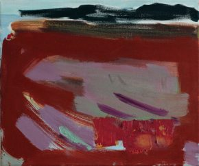 Seaweed Season by Noël O´Callaghan, oil on canvas, 25x30cm, 2020