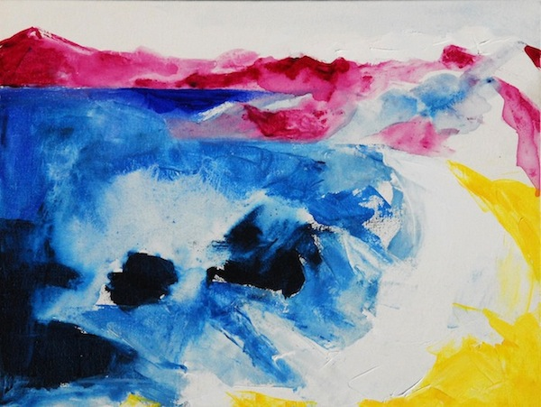 Noel Gazzano (2010) Reminds me of Hellen. Acrylic on Canvas, 30x20 cm