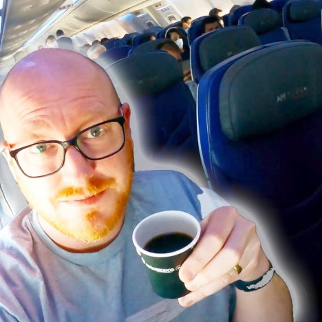 The Empty Transatlantic Flight: Flying From USA to Europe in 2021