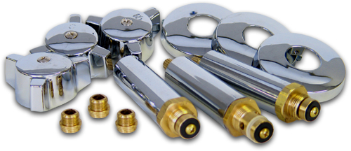 eljer 3 valve tub shower valve trim kit