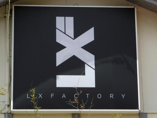 Logo entrata Lx Factory