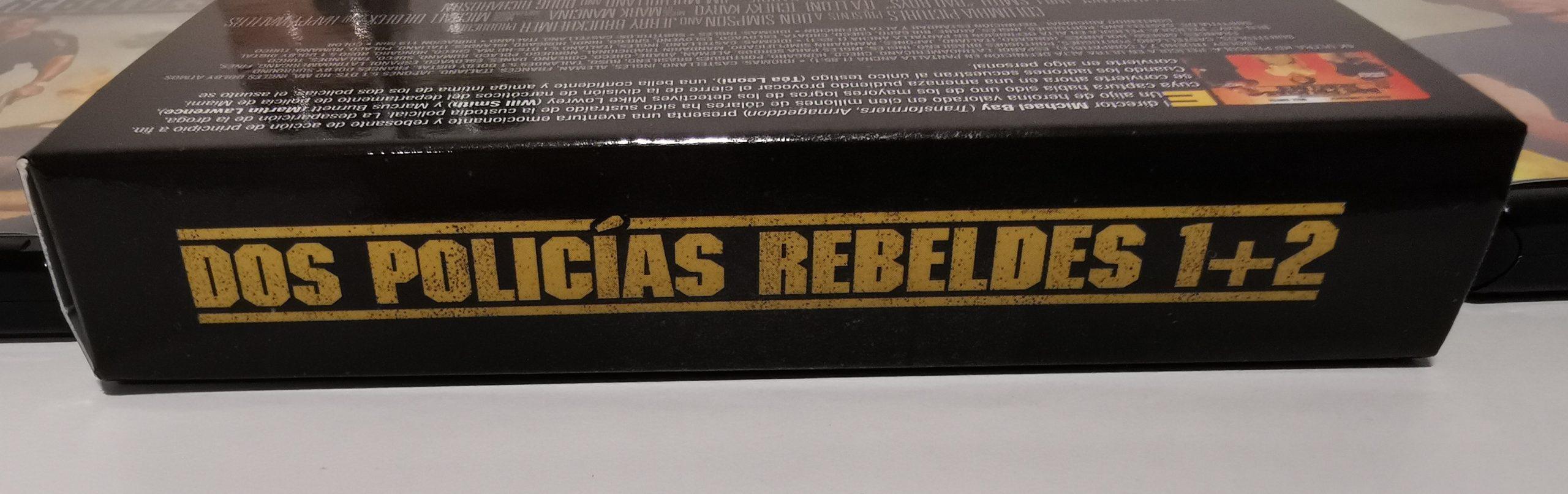 Dos policías rebeldes edición 4K caja