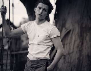 Tom Holland for Man About Town 11