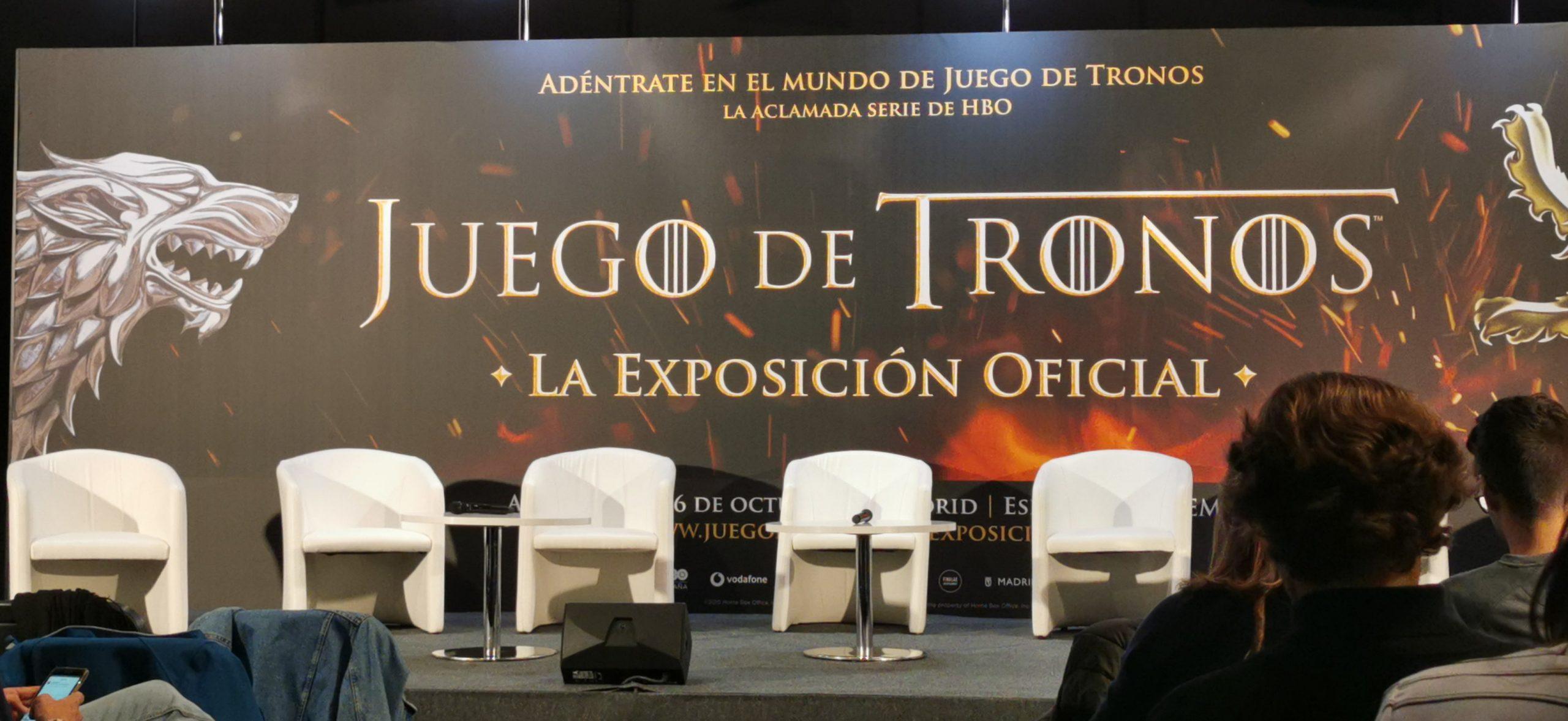 Juego de Tronos exposición oficial