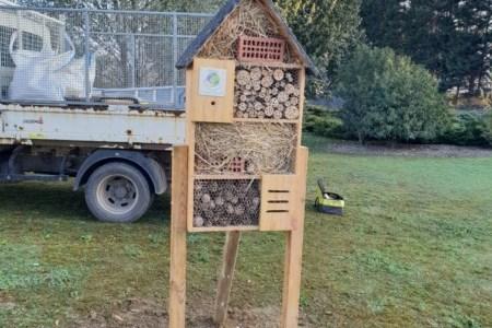 Des hôtels à insectes dans les entreprises du territoire