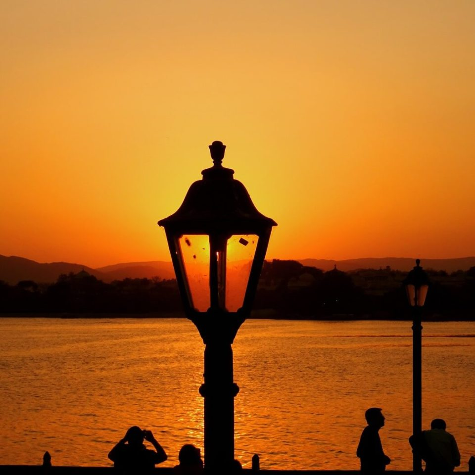Sunset by Lake Pichola, Udaipur