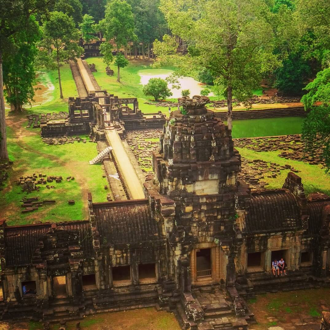 View from Baphuon Angkor Wat