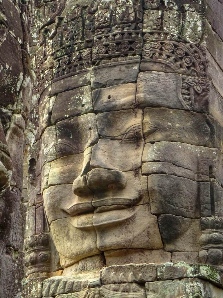 Bayon Temple Face, Angkor Wat interesting facts about Cambodia