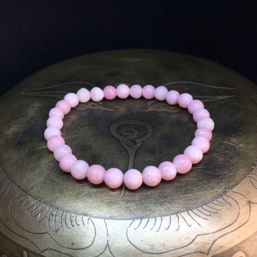 bracelet-opale-rose-6mm