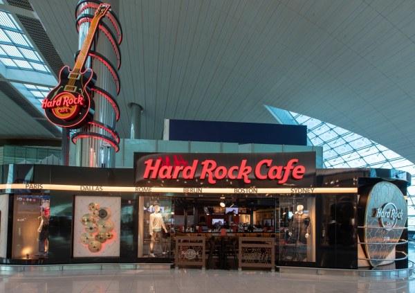Hard Rock Cafe Opens at Dubai Airport :: NoGarlicNoOnions ...