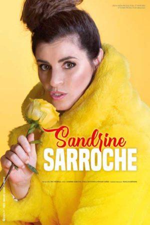 Sandrine Sarroche - Festival d'Humour Nogent se Marre - Affiche spectacle