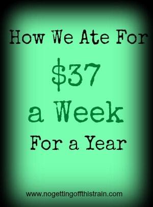 $37 a week