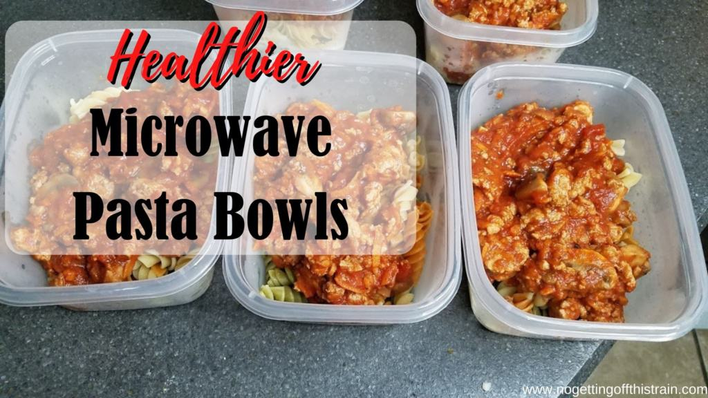 freezer pasta microwave lunches