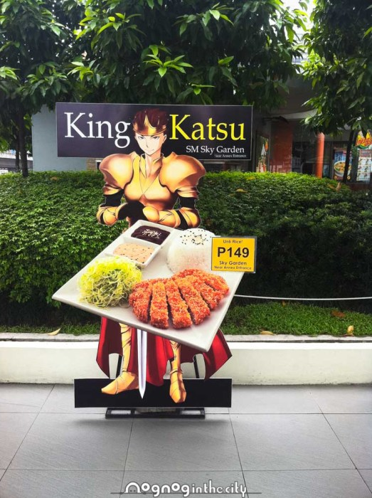 So this is King Katsu...