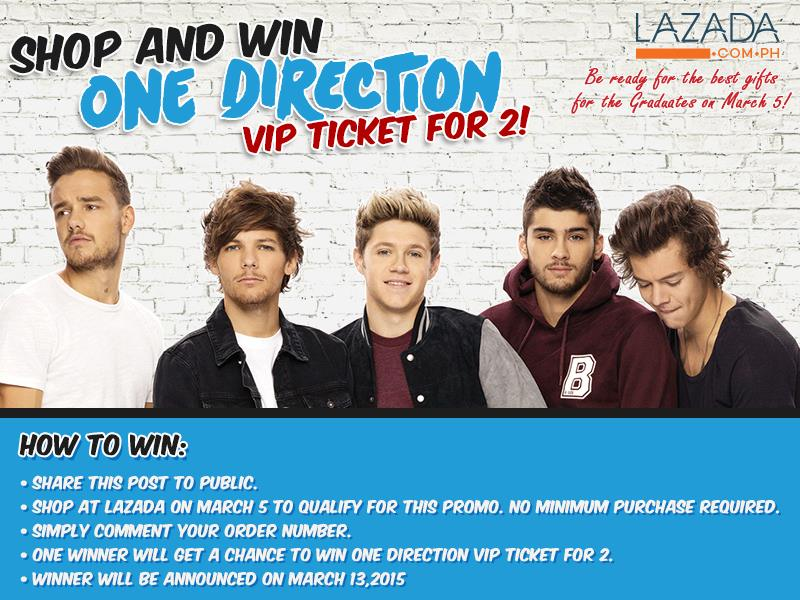 Win vip tickets to one direction concert one direction free tickets m4hsunfo
